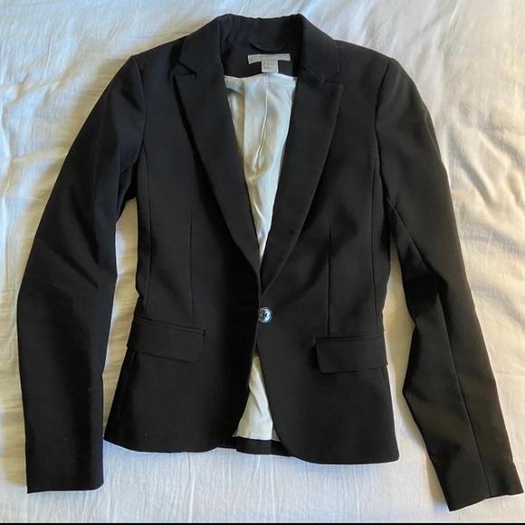 H&M black classic blazer